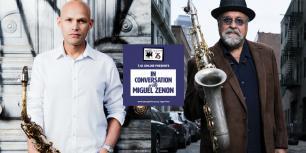 In Conversation with Miguel Zenón ftg. Joe Lovano - Part 2 photo