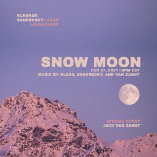 Lunar Landscapes: Snow Moon photo