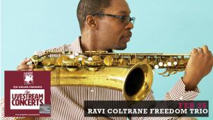 Ravi Coltrane Freedom Trio photo
