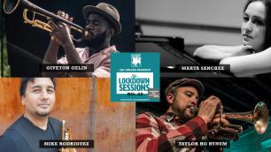 The Lockdown Sessions: Taylor Ho Bynum, Giveton Gelin, Mike Rodriguez, Marta Sanchez photo